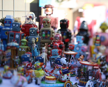 Robots, Pan Jia Yuan, Beijing, China