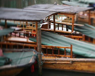 Boats, Zhou Zhuang Watertown, China