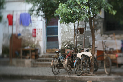 Bicycles, Guilin, China