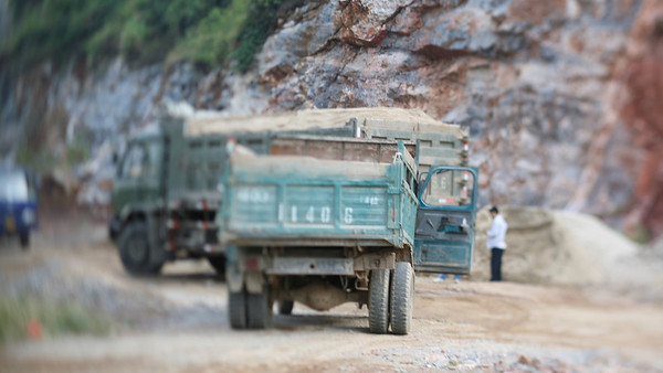 Construction Trucks, Guilin, China