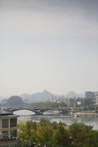 Bridge over Lijiang River, Guilin, China