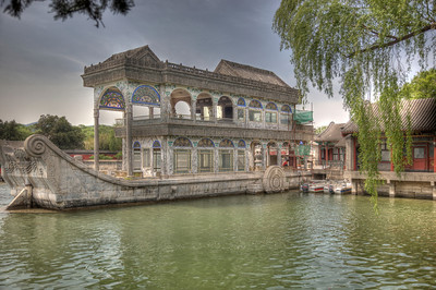 The Marble boat is moored permamently. This specially created HDR picture especially captures this treasure's beauty.