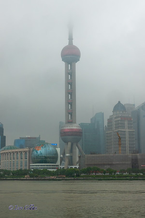 Oriental Pearl Radio & TV Tower, seen from The Bund