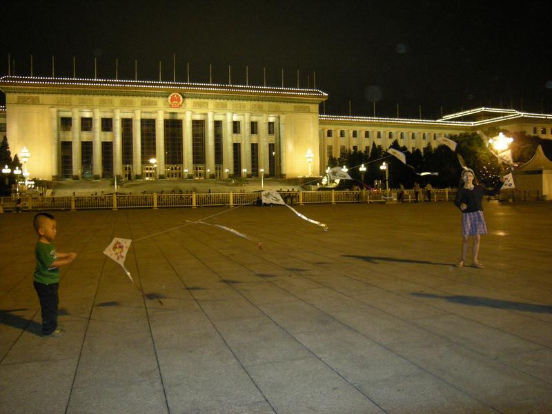 cerf-volant sur la place Tian An Men