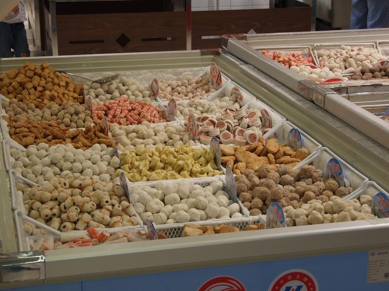 chez Carrefour- produits surgelés à base de poisson