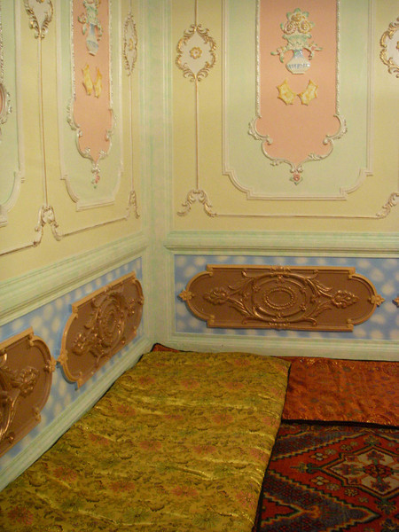 Another example of the elaborate decor of the Uighur homes.