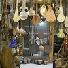 A musical instrument workshop and store.