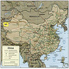 On this map of China, you can see Kashgar (also called Kashi) in the yellow square.