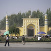 Kashgar is the westernmost city in China and the center of the Uighur culture.  Its mosque, the largest mosque in China, holds 100,000 people inside and in the plaza outside. We were fortunate to be in Kashgar when Ramadan ended and several days of celebration began.