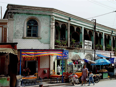 Kashgar street secne DSC01761