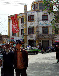 Kashgar street scene DSC01764