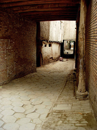 Old Kashgar streets DSC01660