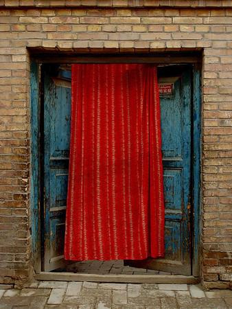 Courtyard entry Old Kashgar DSC01634