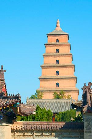 Xian Big and Little Goose Pagodas