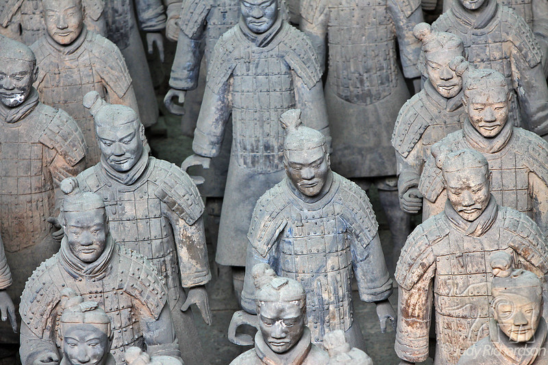 Terracotta Warriors in Xi'an.