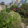 View on Xi'an for City Wall