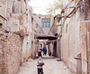 Street in ancient city of Kashgar
