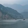 Barges on Yangtze River