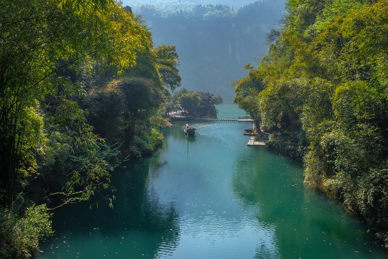 Tributary of Yangtze River