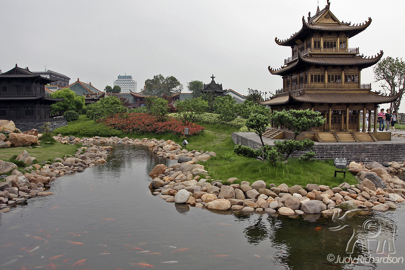 Towers in the Yueyang Area