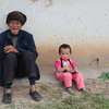 Children and elderly are the only village inhabitants during the day