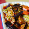Our very favourite dish - fried eggplant