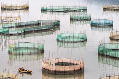 Fisherman & nets