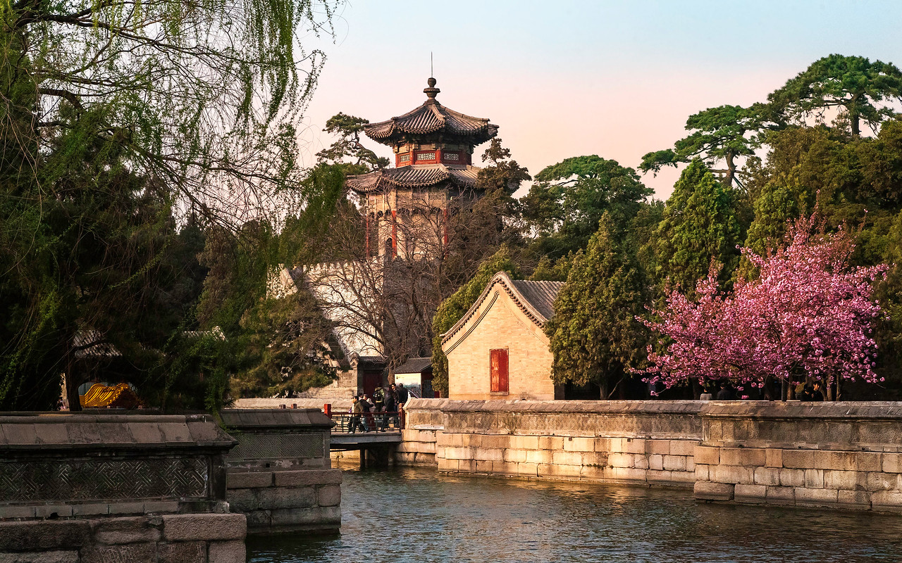 Summer Palace in Spring. Beijing