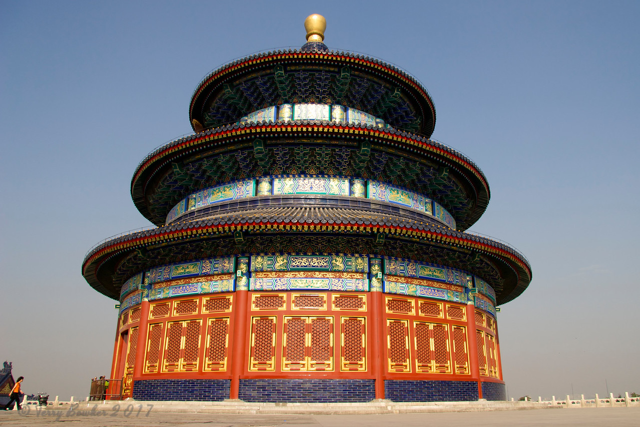 """Temple of Heaven""   Hall of Prayer for Good Harvest, Qiniandian"