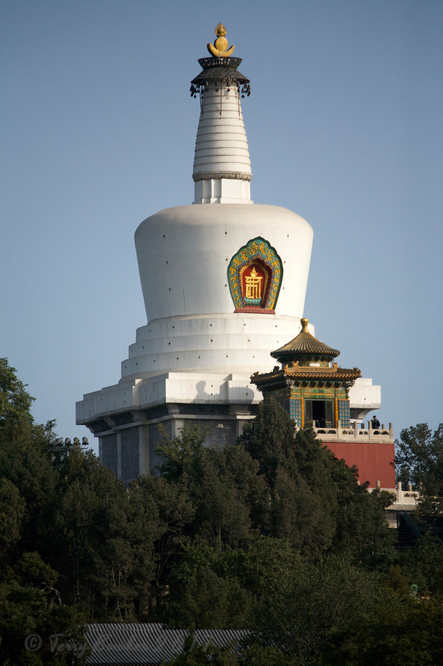 The White Dagoba, Beihai Park, Beijing,