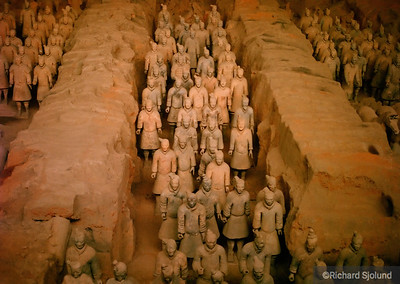 Terracotta Warriors Xian China