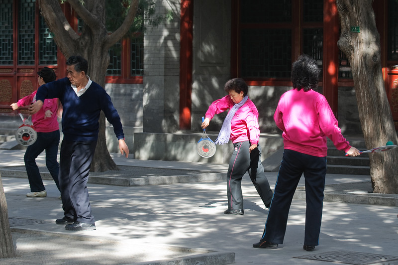 Exercise at the Palace