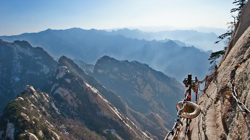 Mt. Hua Stairway