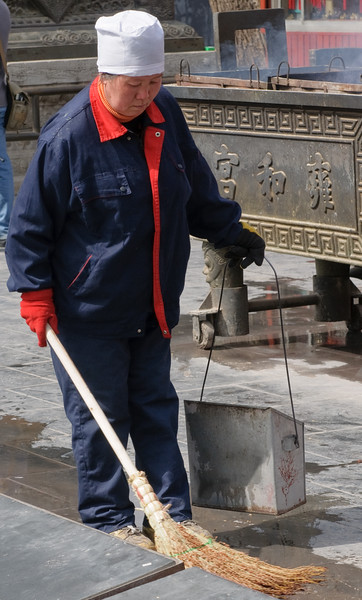Cleaning the Temple