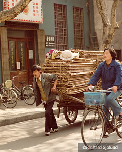Delivering in  China 1988