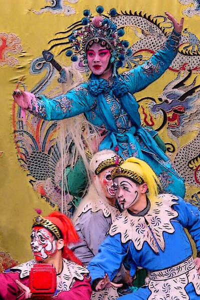 Peking Opera (White Snake and Robbers)