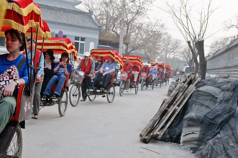 Group Rickshaw Ride