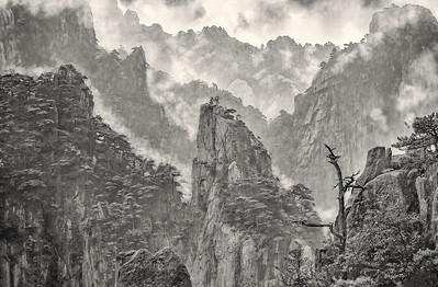Huang Shan. The Rain Has Stopped.