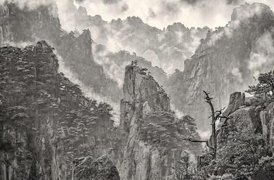 Huang Shan. The Rain Has Stopped.