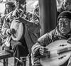 Chinese Musicians,Kaifeng B&W©DonnaLovelyPhotos com -