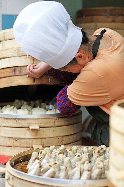 Zhēngjiǎo in Shànghǎi, China