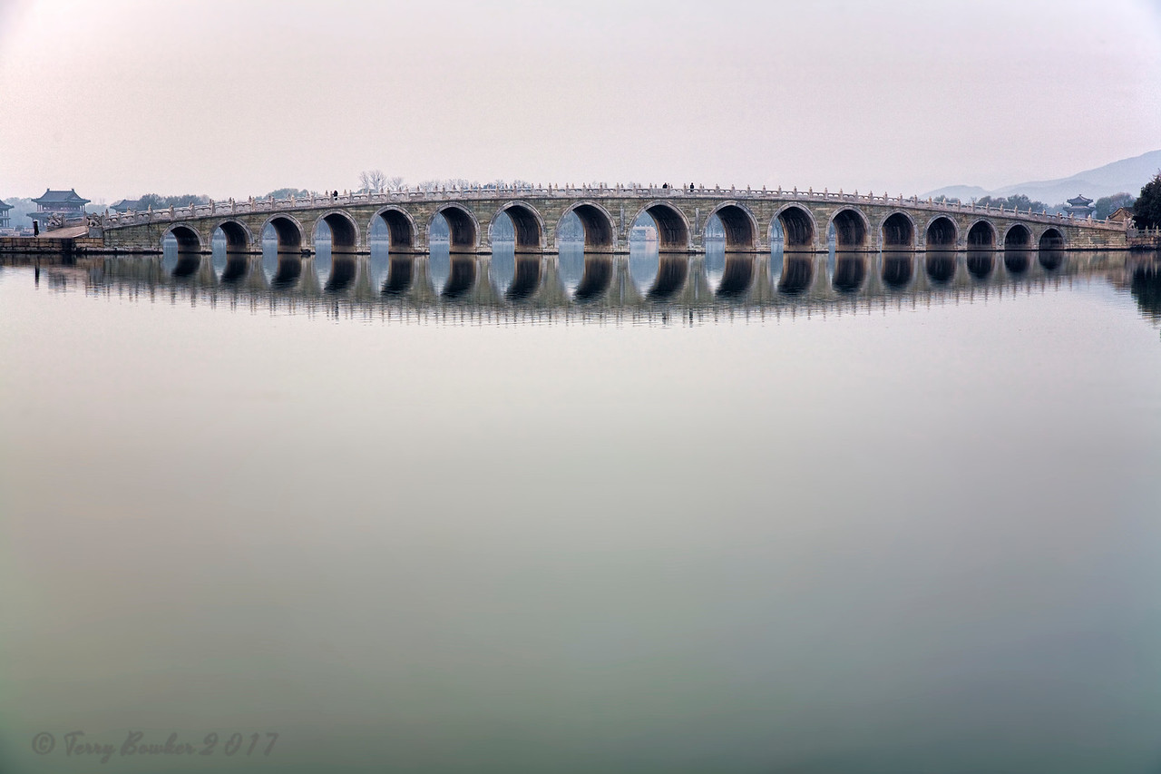 The 17-Arch Bridge, Summer Palace, Beijing China