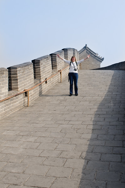 Alone on the Great Wall