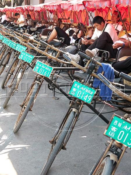 Beijing Bike Taxis