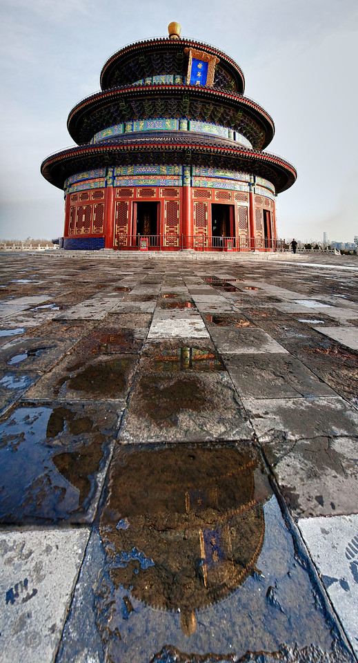 "Hall of Prayer for Good Harvest, Qiniandian, ""Temple of Heaven"" Beijing"