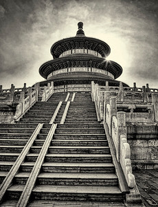 Temple of Heaven. Beijing.