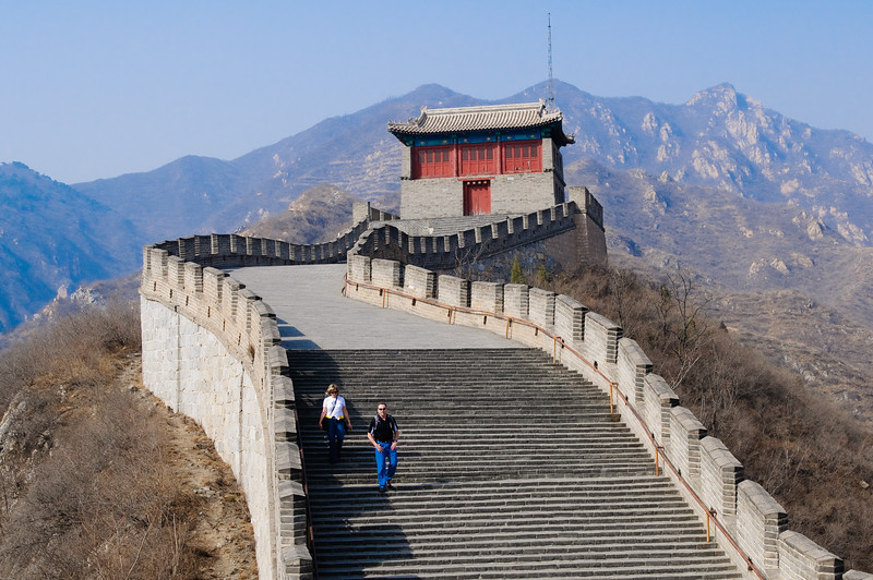 On Top of the Great Wall