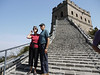 At the Great Wall, Badaling.