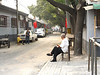 A typical, though uncharacteristically uncluttered, hutong.