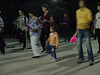 """We were invited to a """"dance"""" at the playground in the evening.  This little girl knew every step in the Macarena and a number of other dances."""